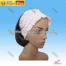 colourful cheaphot sale beautiful SBPP fabric/PPhair band/fascia/Hair Ribbon for female