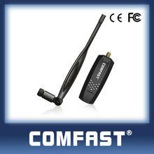 Realtek RTL8192CU 300Mbps wireless usb lan card adapter COMFAST CF-WU880N