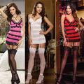 fábrica de ligas raya las mujeres sexy ropa interior al por mayor
