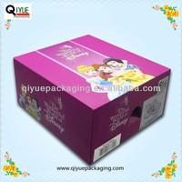 baby shoe box packaging