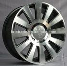 cheap silver alloy car wheels
