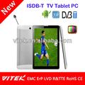 7 tv polegadas tablet pc com 3g chamada de telefone função tv