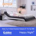 G883# foshan fabricante de móveis de madeira indiana designs cama de casal