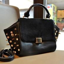 2013 Winter self-defense package rivet bag handbag shop specifically for a generation of fat AliExpress explosion models