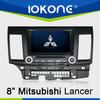 Mitsubishi Lancer in dash 2din touch screen Car DVD automotive gps navigation
