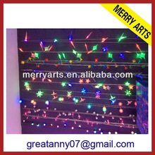 Factory hot sale colorful discount holiday living kinds of christmas lights and lighting shaped