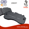 commercial vehicle brake pad for MERCEDES Atego 11; 1823,1828, 2523, 2628