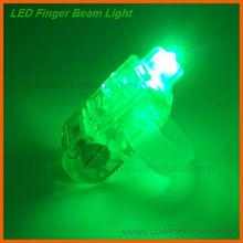 Glow In Dark Halloween LED Finger Lights Flashing For Carnival