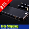 Titanium Alloy Case For Apple iPhone5 5G, 0.3mm Brushed metal case for iphone 5, for Apple iPhone5 aluminum case cover