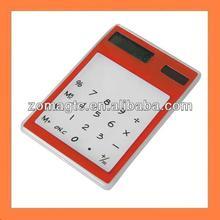 Solar Powered Touch Screen Pocket Calculator