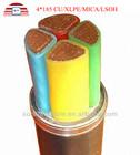China Manufature 4*185 Low voltage CU/XLPE/MICA/LSOH fire-resistant copper cable