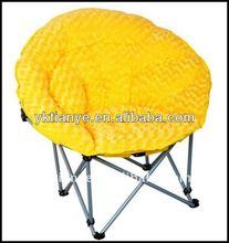 folding round lounge chair