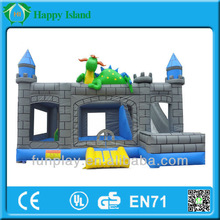 2015 Newest inflatable pumpkin\mouse\basketball hoop inflatable bouncer castle for sale