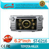 high quality LSQstar car radio for toyota hilux 2012 with dvd/bluetooth/TV/ipod/3G on-sale!hot!drive your life!