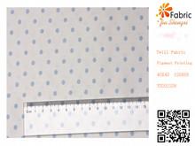 YD201208 printed fabric cotton polka dot