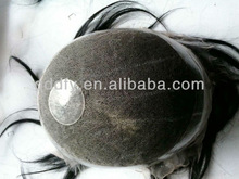 2014 New Style Natural Remy Human Hair Men's Toupee