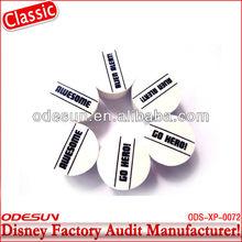 Disney factory audit manufacturer's pencil eraser 143546