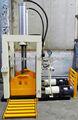 De resíduos de pneus máquina de corte / corte hidráulico
