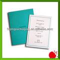 Verde reunião anual cartão do convite com logotipo impresso