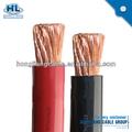borracha de silicone resistente de alta temperatura cabo de alimentação