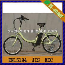 2014 nuovo sviluppato madre bici x-eb55 20'' 250w motore brushless mini bici e