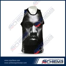 All New Custom Full Sublimated Basketball Uniform