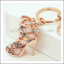 mini high heel shoe keychain;plastic dance shoe keychain;running shoe keychain