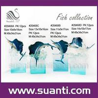 Sea life figurines