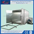 Industrial horno de vapor para de recubrimiento en polvo