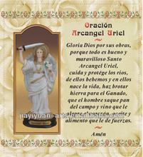 Polyresin religious items Arcangel Uriel