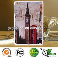 Custom design hard back case for ipad mini2 cover