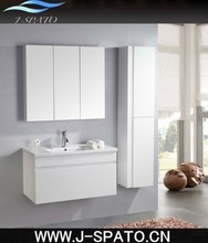 2014 China New Products White Color Bathroom Cabinet Unit for New Zealand Market