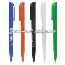 advertising logo branded plastic gift pen