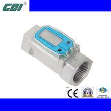 Red/Blue 3/4' 1' 1.5' Aluminum Mini Digital Turbine Gas Meter