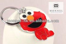 Z72 Wholesale Brand New Red Elmo Monster Keychain Keyring