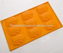CM-740 non toxic silicone muffin tulip paper cup