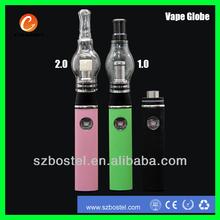 shenzhen electronic ego vaporizer wax glass wax vaporizer pen 2014