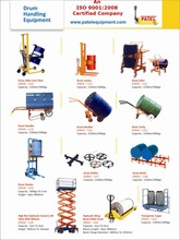 drum handling equipments india
