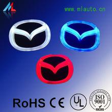 MILAN 4D LED Mazda brand car logo led light