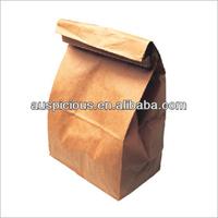 Customized kraft paper package bag fried chicken bag