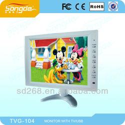 Cheap TFT AV/TV/VGA Optional 12'' LCD Car Monitor