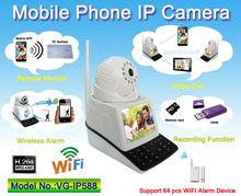 360 Degree Mini Snowmobile WIFI Camera , Video Call, Recording Function, Remote Monitor, Wireless Alarm