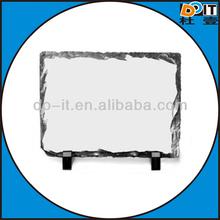 sublimation heat transfer photo rock slate painting/2012 hot sale sublimation photo rock