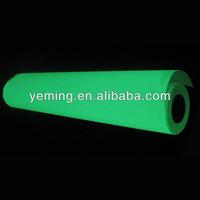 photoluminescent self-ahesive vinyl/glow in dark film/strontium aluminate film
