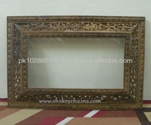 Wooden Mirror or Photo Frame large