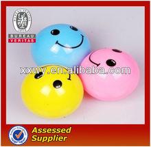 pu foam antistress ball/smiley face ball