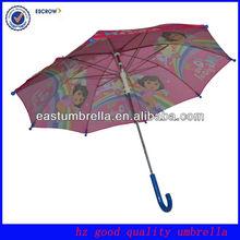 pretty hot selling fashion pink flower umbrella