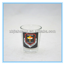 Customized Logo Round Whisky Glass For Sale