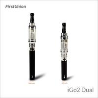 innovate products hot product igo e-cig iGo2 dual international brand names e cigarettes