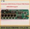 seamlessly OEM/ODM 150M 1P Wan+4p LAN 2.4G FAST wireless AP unlock wifi hotspot used cisco Router